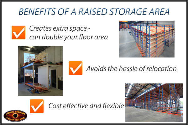 custom designed mezzanine floor systems to create more space in your warehouse